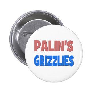 PALIN'S GRIZZLIES Button - pink