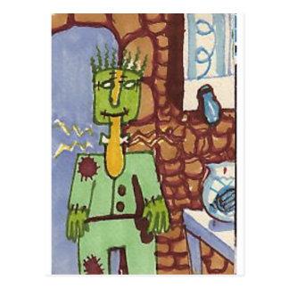 Palinstein's Lab Postcard