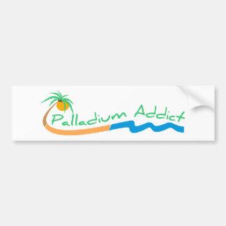 Palladium Addict Bumper Sticker