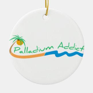 Palladium Addict Christmas Ornament Logo
