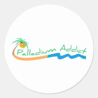 palladiumaddictlogo stickers