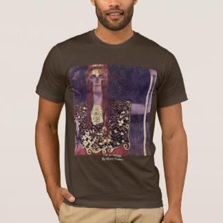 Pallas Athena By Klimt Gustav T-Shirt