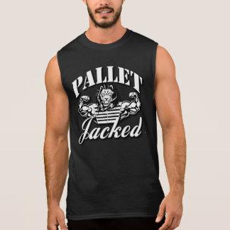 Pallet Jacked Black Sleeveless T-Shirt
