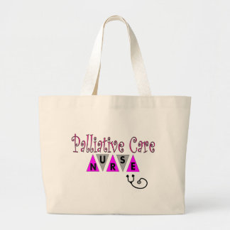 Palliative Care Nurse Gifts Large Tote Bag