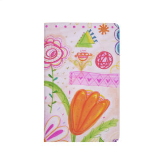 Palm and Florals Pocket Journal