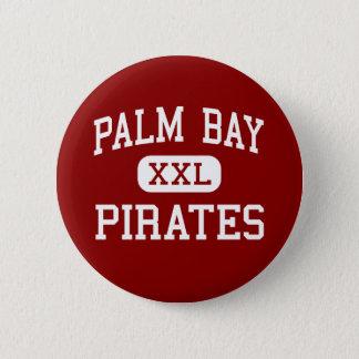 Palm Bay - Pirates - High - Melbourne Florida 6 Cm Round Badge