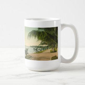 Palm Beach 1898 vintage Florida scene Coffee Mug