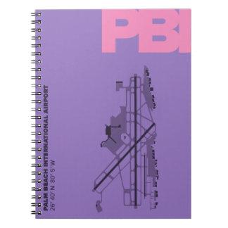 Palm Beach Airport (PBI) Diagram Notebook