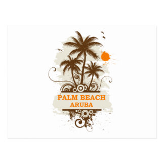Palm Beach Aruba Postcard