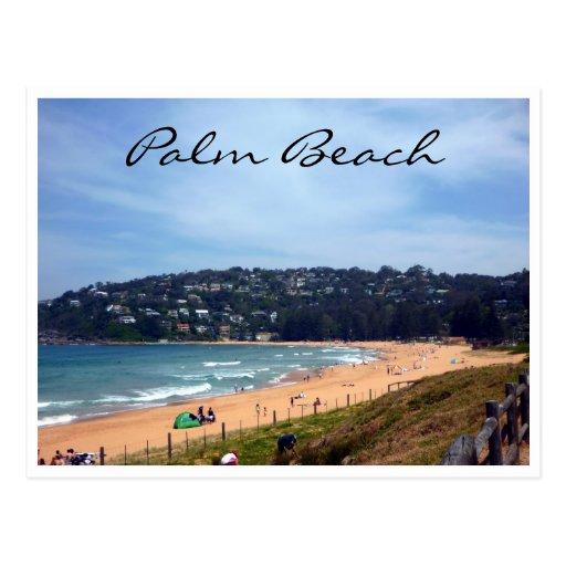 palm beach coast postcard