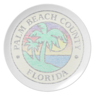 Palm Beach County Plate