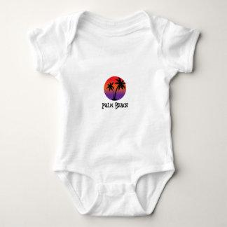 Palm Beach in Aruba. Baby Bodysuit