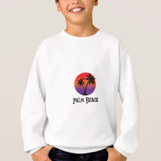 Palm Beach in Aruba. Sweatshirt
