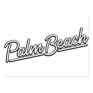 Palm Beach in white Business Card