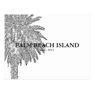 PALM BEACH ISLAND POSTCARD