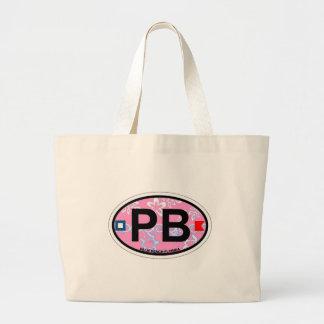 Palm Beach. Large Tote Bag