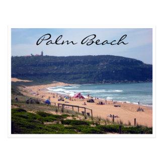 palm beach waters postcard