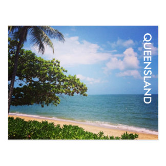 palm cove beach postcard
