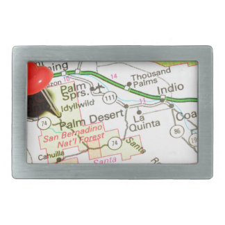 Palm Desert, California Belt Buckle
