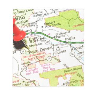 Palm Desert, California Notepad