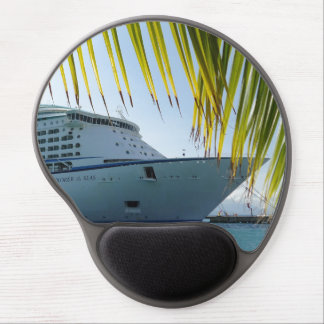 Palm Framed Bow Gel Mouse Pad