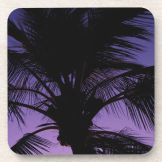 Palm Frond Silhouette Coaster