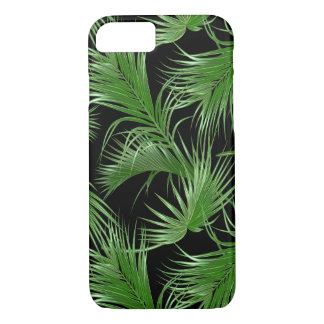 Palm Fronds Tropical Pattern iPhone 8/7 Case