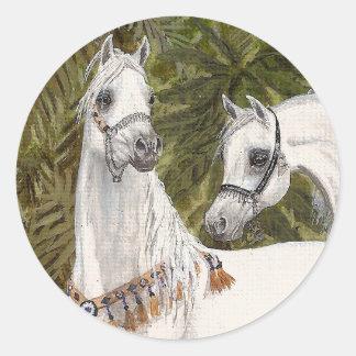 Palm Grove Arabian horse stickers
