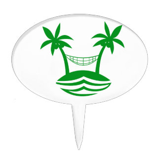 palm hammock beach smile green.png cake pick