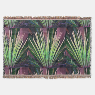 Palm Intrepid Throw Blanket
