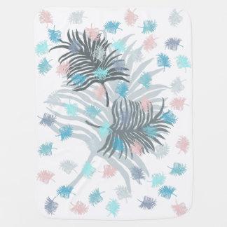 Palm Leaf Baby Blanket