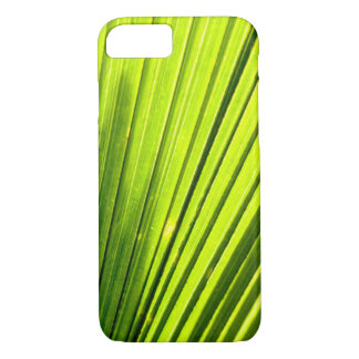 palm leaf light iPhone 7 case