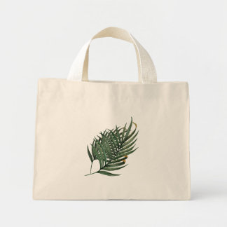 Palm Leaf Mini Tote Bag