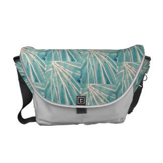 Palm Leaf Rickshaw Messenger Bag