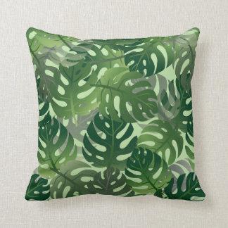 Palm Leaf Tropical Pattern Cushion