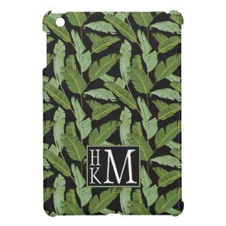 Palm Leaves | Monogram iPad Mini Covers