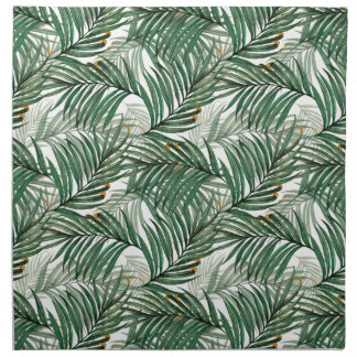Palm leaves napkin