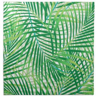 Palm leaves napkin