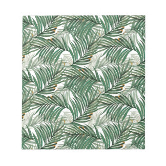 Palm leaves notepad