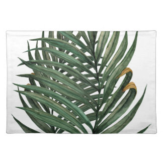 Palm leaves t-shirt placemat