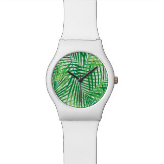 Palm leaves watch