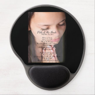 Palm of His hand christian mouse pad Gel Mouse Pad