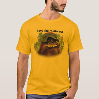 Palm Oil Rainforest Orangutan Conservation T-Shirt