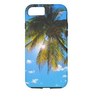 Palm Paradise Blue Sky Sunshine iPhone 7 Case