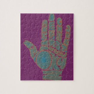 Palm Reader #1 Jigsaw Puzzle