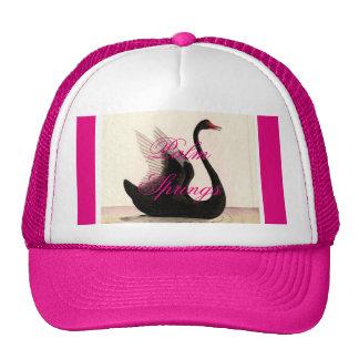 Palm Springs Black Swan Trucker Hat