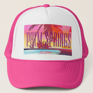 Palm Springs California Trucker Hat