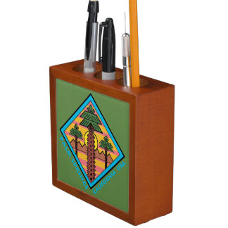 PALM SPRINGS CALIFORNIA USA original artwork Desk Organiser