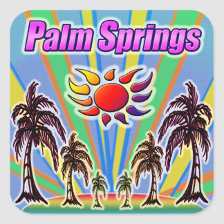 Palm Springs Summer Love Sticker