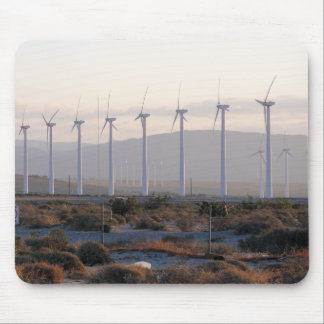 Palm Springs Windmills Mousepad